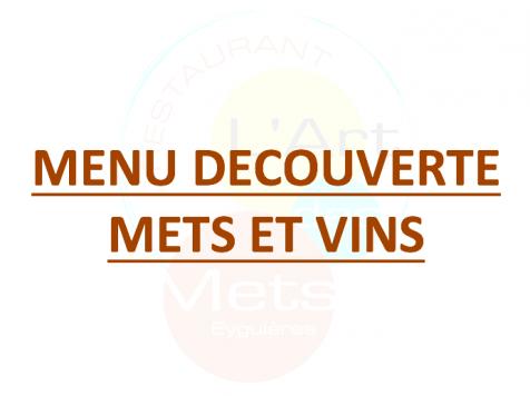 Menu Spécial Fête des Mères Mets et vins 62 €